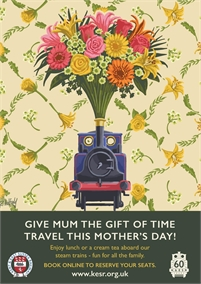 Mothers Day | Kent & East Sussex Railway