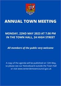 Annual Town Meeting 2019 | Tenterden