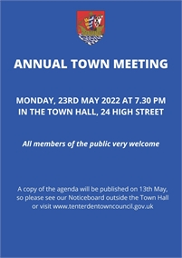 Annual Town Meeting 2019 | Tenterden