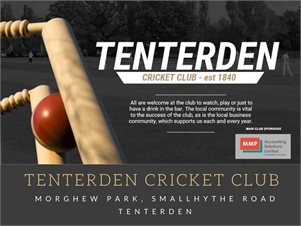 Tenterden Cricket Club Tenterden Cricket Club
