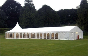 Ambassador Marquee & Furniture Hire James & Melanie