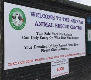 The Retreat Animal Rescue Farm Sanctuary and Cafe The Retreat Animal Rescue
