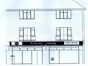Tenterden Post Office & Retail Shop Alan Knight