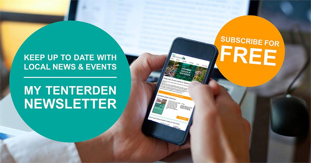 Register for the My Tenterden newsletter