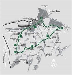 Walks around Tenterden - Walk 7 Morghew