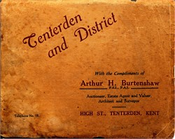 Tenterden and District Brochure 1924