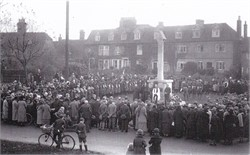 Unveiling of the Tenterden War Memorial and Historical Information