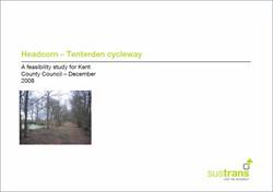 Headcorn to Tenterden Cycleway