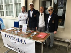 Tenterden Bowls Club News Week Ending 30 April 2017