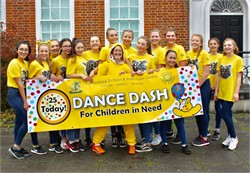 Homewood's Dance Dash raises thousands for Children In Need