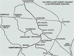 Tenterden Borough Council, its efforts to have a rail connection