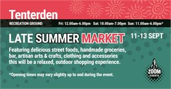 Press Release - Tenterden Late Summer Market 2020