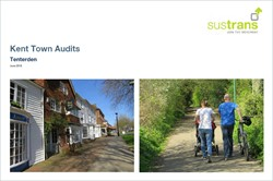 Kent Towns Audit - Tenterden - Report by Sustrans