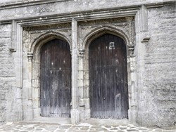 West Doors St Mildreds Church