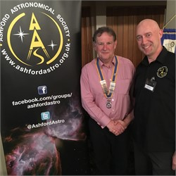 Tenterden Rotary Club speaker: Jason Hall from Ashford Astronomical Society