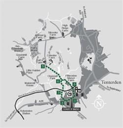 Walks around Tenterden : Walk 2 Chennell Park