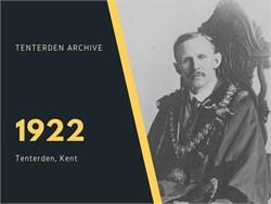 Tenterden Archive - Year 1922