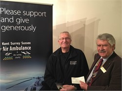 Kent, Surrey and Sussex Air Ambulance Donation