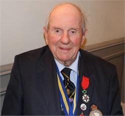 Colin Deverell DFM awarded Legion d'Honneur
