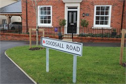 Road Names New Houses in Tenterden