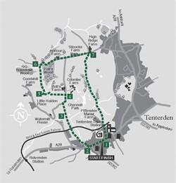 Walks around Tenterden : Walk 3 The Millponds