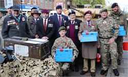 Donations to The Poppy Appeal in Tenterden and St Michaels
