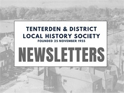 Tenterden History Society Newsletters
