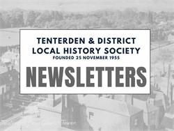Tenterden History Society Newsletters