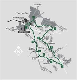 Walks around Tenterden - Walk 5 The Bottoms