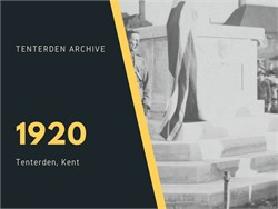 Tenterden Archive - Year 1920