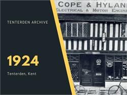 Tenterden Archive - Year 1924