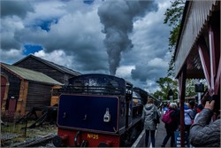 Photos: Volunteers at Kent and East Sussex Railway