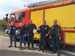 Tenterden Fire Crew take French Leave