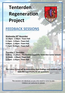 Tenterden Regeneration Project Feedback