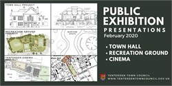 Public Exhibition Presentations and Online Survey